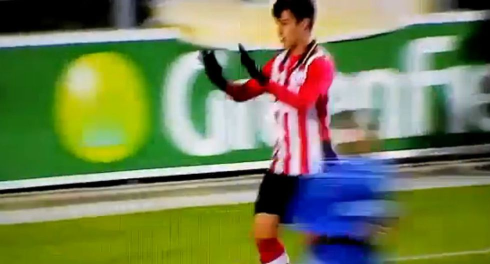 Beto da Silva anotó su segundo gol con el PSV Jong