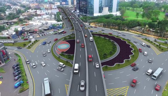 La comuna capitalina destacó que se ejecutarán ciclovías, senderos y cruceros semaforizados, así como rampas de accesibilidad a nivel de superficie en el óvalo. (Foto: MML)