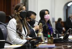Lady Camones, vicepresidenta del Congreso: Mirtha Vásquez debe pedir el retiro Luis Barranzuela