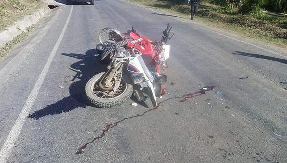 Vehículos quedaron con serios daños materiales en custodia de la PNP
