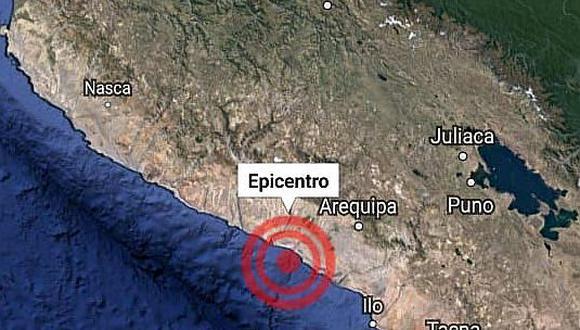 Fuerte temblor de 5.3 grados sacude a Arequipa mientras escuchaban mensaje a la Nación
