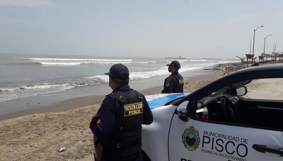 Ica: El mar se salió 12 metros en el litoral de la provincia de Pisco.