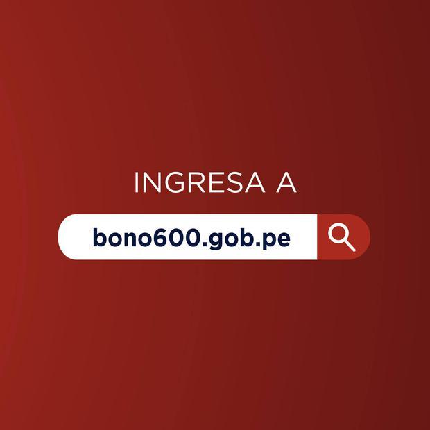 La consulta del bono de 600 soles se podrá realizar a través de la página http://bono600.gob.pe, (Foto: MIDIS)