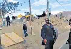 GRA recuperó tierras en Yura ocupadas por grupo de traficantes