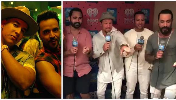 """Backstreet Boys y su desastroso intento por cantar """"Despacito"""" [VIDEO]"""