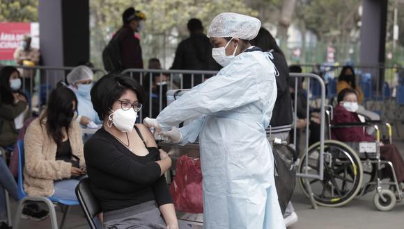 La vacunación contra el coronavirus continúa avanzando a nivel nacional a fin de reducir los contagios de esta enfermedad. (Foto: @photo.gec)