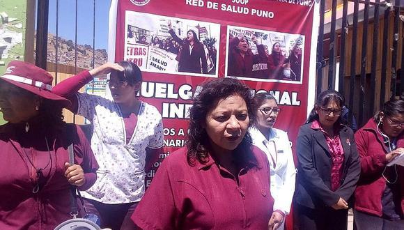 Crisis laboral en Salud sigue con protesta de los obstetras