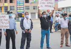 Sullana: Trabajadores exigen cambios en Sub Región de Salud