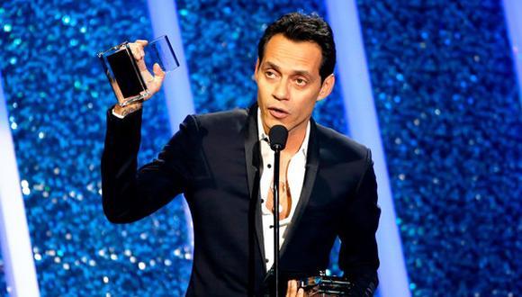 """Marc Anthony en premios Lo Nuestro: """"me siento peruano"""" (VIDEO)"""