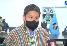 """Guido Bellido: """"Desisto públicamente de cualquier acción legal contra Patricia Chirinos"""""""