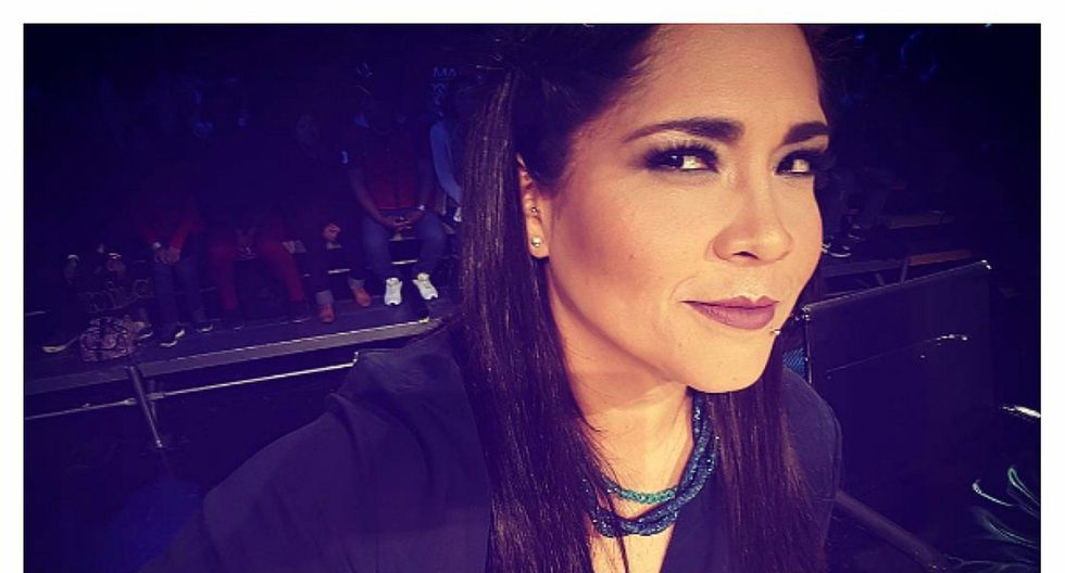 Katia Palma sorprende a sus fans con glamuroso atuendo para final de 'Yo Soy' (FOTO)