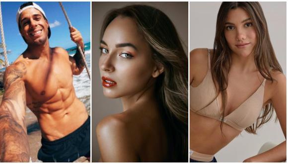 Hugo García olvidó a Mafer Neyra y estaría en salidas con modelo Alexandra Balarezo. (Fotos: Instagram)