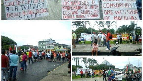 Paro Nacional: CGTP Iquitos acata huelga al 100%