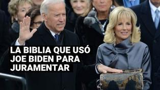 Joe Biden: la historia de la biblia familiar del mandatario