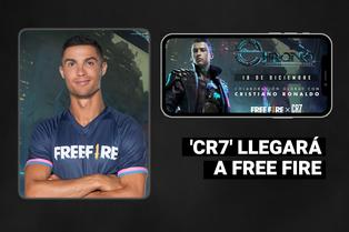 Cristiano Ronaldo: Free Fire anuncia una colaboración especial para que sea un nuevo personaje