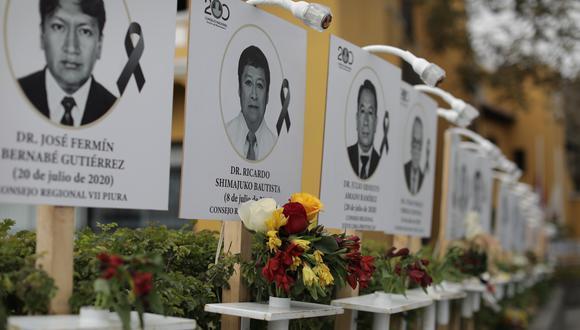Los galenos que laboran en las regiones de Lima, Arequipa y Loreto han sido las más golpeados por el COVID-19.  (Foto: Anthony Niño de Guzmán / GEC)