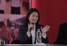 Keiko Fujimori con más apoyo legislativo