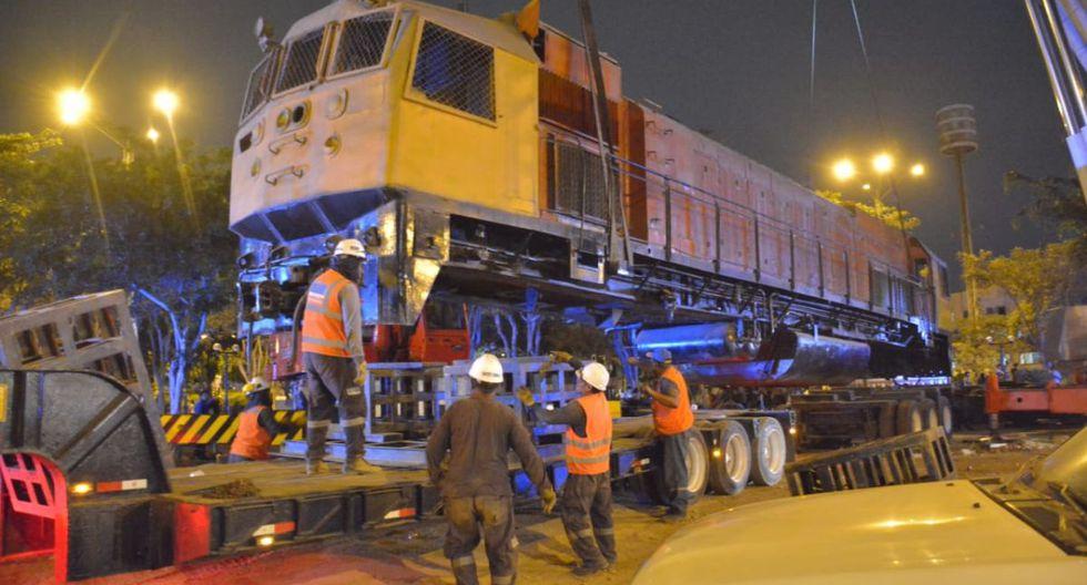 Tras el retiro de la locomotora, el municipio de La Victoria realizará trabajos de mejoramiento en el parque El Porvenir. (Difusión)