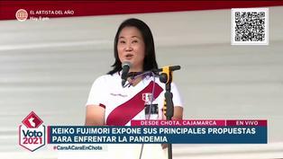 Keiko Fujimori promete bono de oxígeno y asegura que habló con embajador ruso