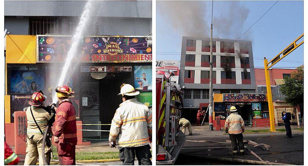 La Victoria: Incendio en edificio de Av. Canadá alarmó a vecinos (FOTOS Y VIDEO)