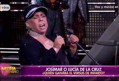 """Así fue la presentación de Lucía de la Cruz en """"El Artista del Año"""" (VIDEO)"""