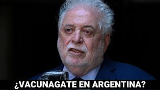 Ministro de salud de Argentina renuncia por escándalo de vacunados VIP