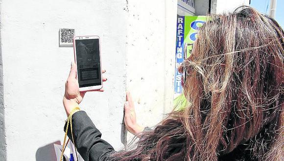 Conoce más de Arequipa usando los códigos QR