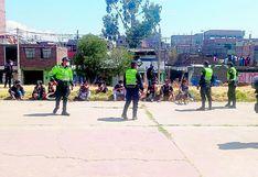 No aprendemos, más de cien son detenidos en domingo de toque de queda en diversos distritos