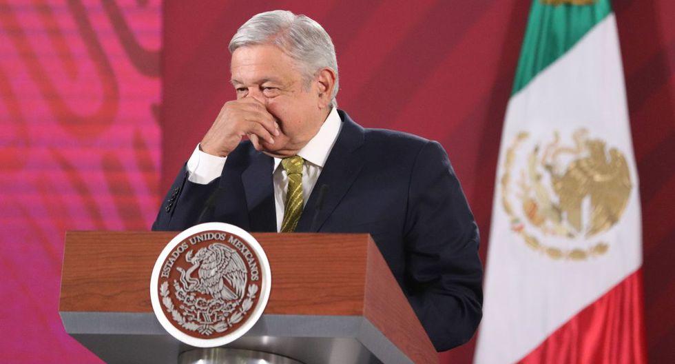 El mandatario de México, Andrés Manuel López Obrador, participa este jueves durante una rueda de prensa matutina en Palacio Nacional de Ciudad de México. (Foto: EFE/José Pazos)