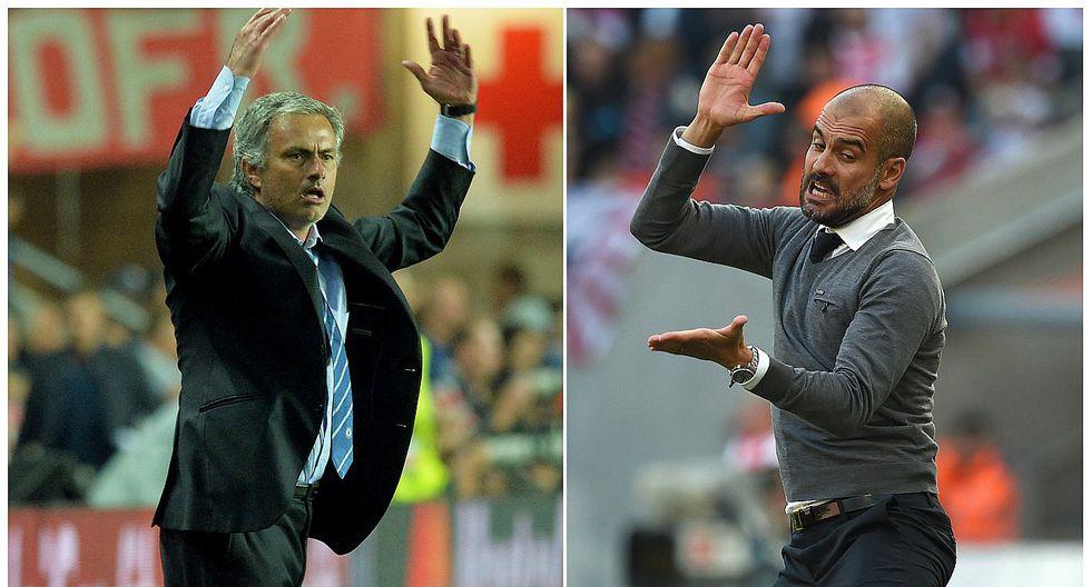 Manchester United vs. Manchester City: Mourinho y Guardiola encienden la previa