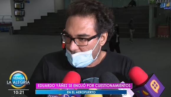 EN 2017, Eduardo Yánez también se enfrentó con un reportero. El problema fue tan grande que terminó en una demanda. (Foto: Captura de video)