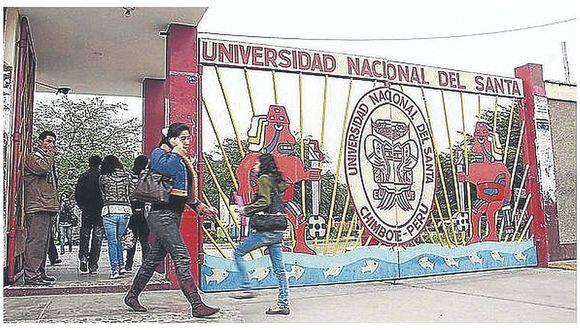 Autoridades de la Universidad Nacional del Santa recibirán bonificación de casi S/ 13 mil