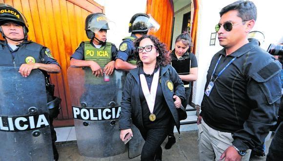 Magistrada Rocío Sánchez asegura que se pretende desacreditar a colaborador que acusa a expresidente