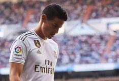 Real Madrid vs. Alavés: James Rodríguez queda fuera de convocatoria para el partido de LaLiga