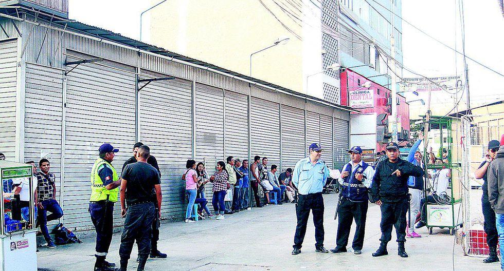 """Marcas"" arrebatan a recaudador 70 mil soles  en San Juan de Miraflores"