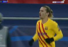 Barcelona vs. Ferencvaros: Antoine Griezmann anota un golazo de taco para el 1-0 (VIDEO)