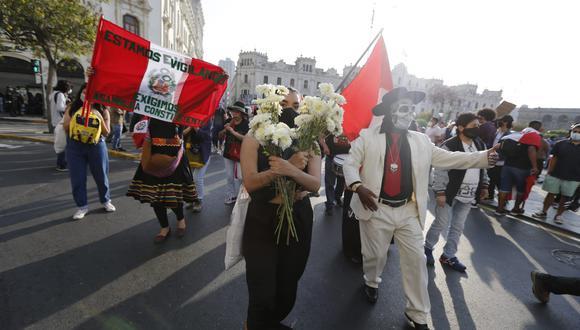 El jefe de Estado aseguró que su Gobierno garantizará que se respete el derecho a la protesta. (Fotos: Violeta Ayasta / @photo.gec)