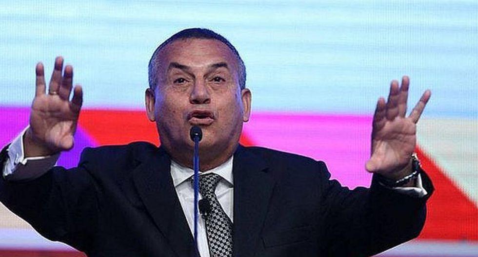 "Daniel Urresti: ""Yo soy el portavoz, el líder de la bancada"""