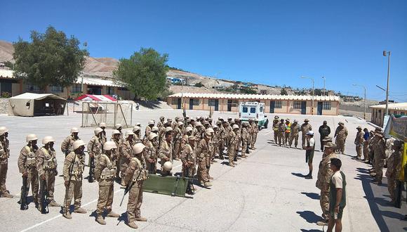 ¿Por qué militares se alistan para realizar tácticas en la sierra de Moquegua?