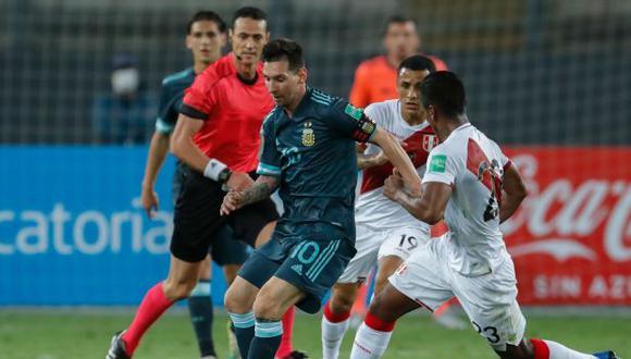 El post de la Ligue 1 en la víspera del Perú vs. Argentina por las Eliminatorias. (Foto: AFP)