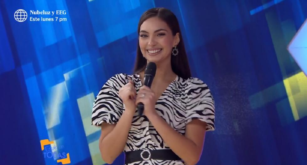 """Natalie Vértiz presenta su primera nota tras asumir conducción del programa """"Estás en todas"""""""