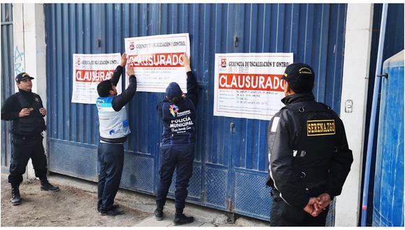 Pachacámac: clausuran locales donde quemaban basura afectando la salud de los vecinos (FOTOS)