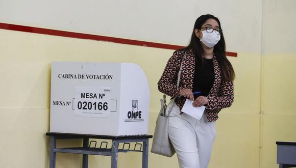 Para cumplir con el deber cívico de sufragar y elegir al próximo mandatario del país hay ciertas medidas de prevención a tomar en cuenta. (Foto: Andina)