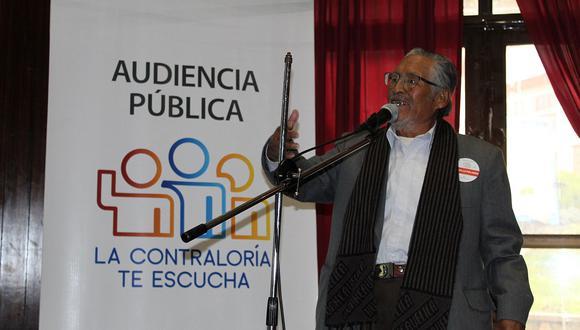 Contraloría realizará primera audiencia pública virtual en Huancavelica