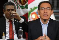 Manuel Merino dio cuenta de segunda moción de vacancia en contra de presidente Vizcarra