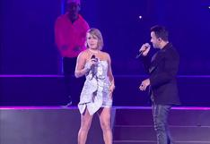 """Lima 2019: Leslie Shaw y Luis Fonsi  interpretaron """"Échame la culpa"""" en la inauguración (VIDEO)"""