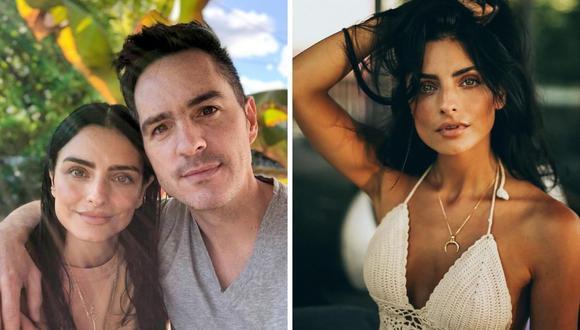 "Mauricio Ochmann y Kailani cantaron ""Happy Birthday "" a la actriz Aislinn Derbez. (Foto: Instagram / @mauochmann / @aislinnderbez)."