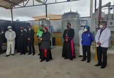 Entregan oficialmente la planta de Oxigenatón Región Puno