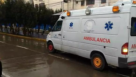En el puesto de salud no había personal para conducir la ambulancia.