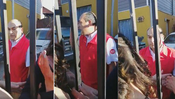 Mujeres encaran a trabajador de supermercado por golpear brutalmente a su esposa (VIDEO)